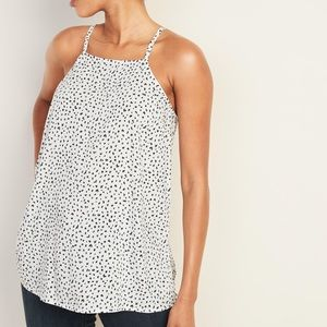 Old Navy Light weight square neck cheetah cami